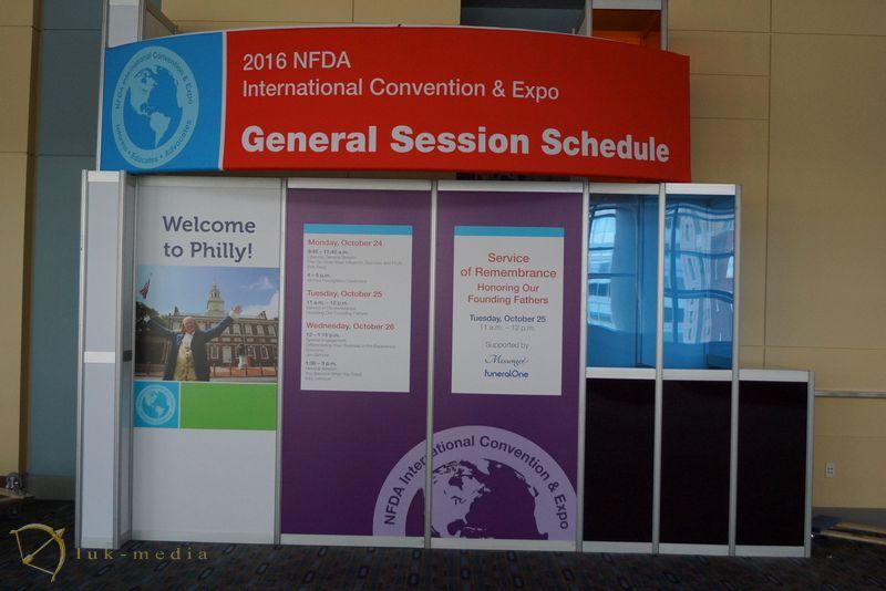 Похоронная выставка NFDA 2016 США
