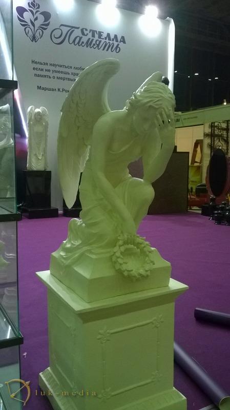 выставка Некрополь Москва 2014