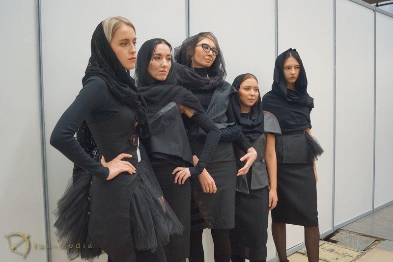 дефиле траурной одежды Некрополь 2016