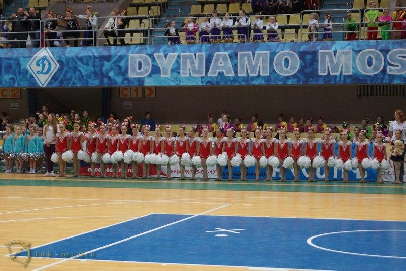Чемпионат и Первенство России по черлидингу 2015 награждение