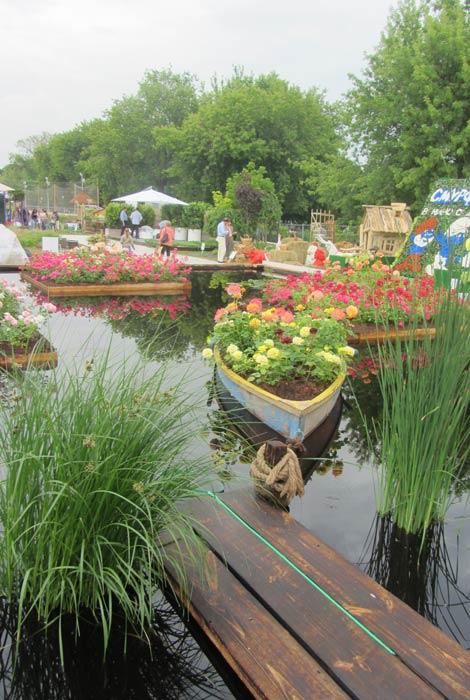 moscow flower show 2013 фотоотчет