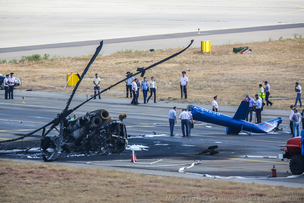 вертолет разбился в геленджике