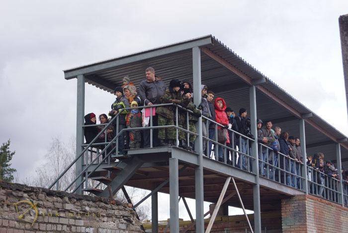 интерполитех 2013 поездка на полигон