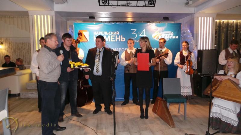 выставка Карельский камень 2015 открытие