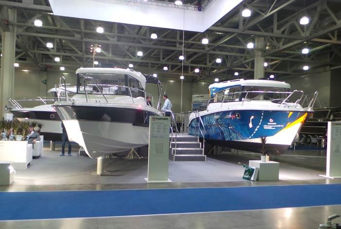 лодочная выставка в москве