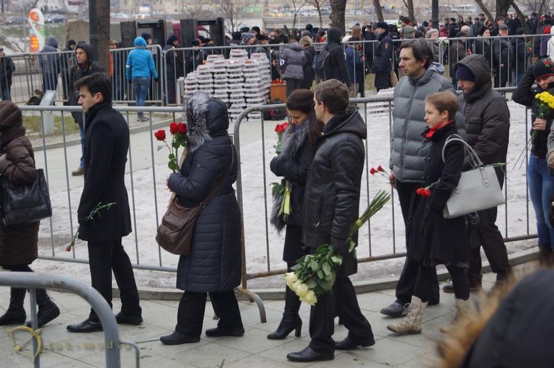 похороны бориса немцова фото
