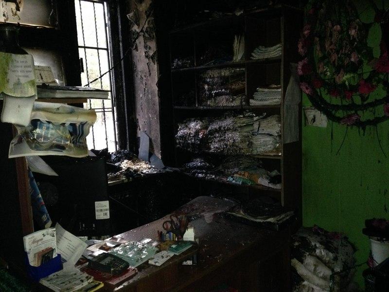 салон обрядовых услуг Томск пожар