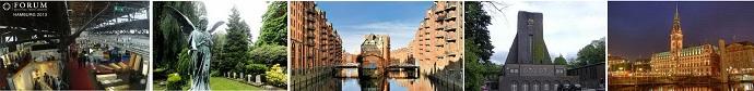 Визите  в Гамбург с посещением похоронной выставки