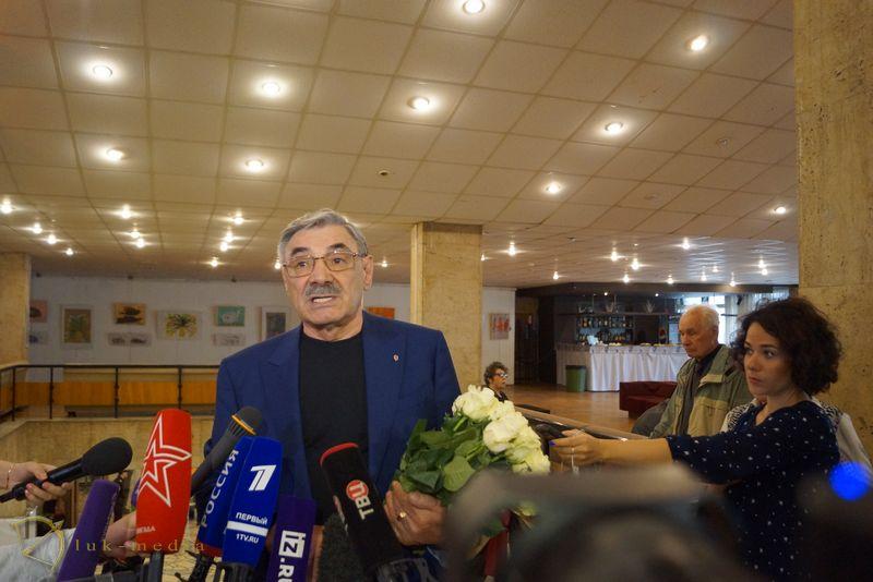 Прощание с Алексеем Баталовым