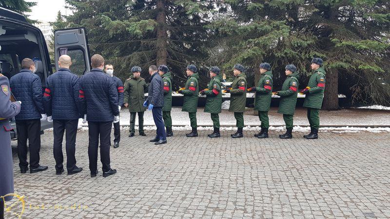 Прощание с Юрием Бондаревым