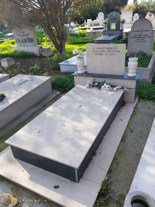 Английское кладбище в Ларнаке