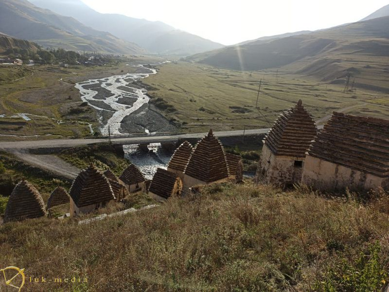 Кладбище Даргавс в Осетии