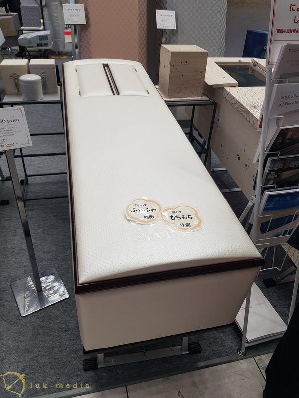 Японские гробы на выставке ENDEX 2019