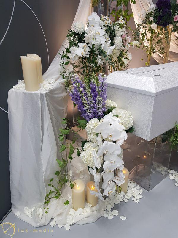 Траурная флористика на выставке ENDEX 2019