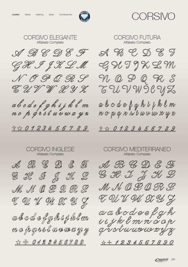 Бронзовые буквы Каджатти от компании Феникс