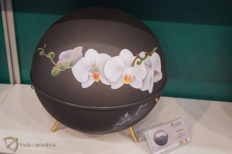 Урны на выставке Фунергал 2018
