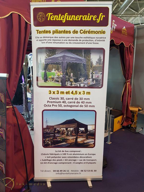 Лионская похоронная выставка Funexpo 2018, шатер