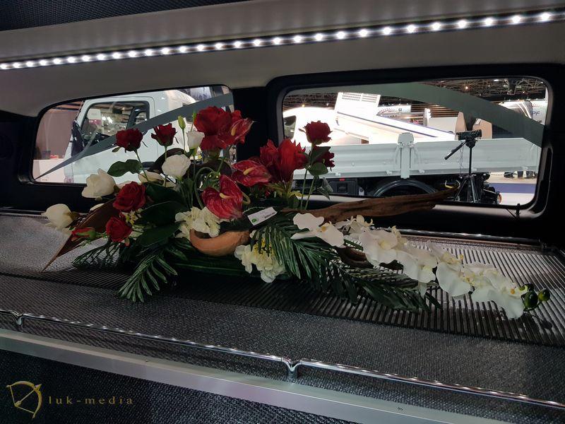 Траурная флористика на выставке Funexpo 2018 в Лионе