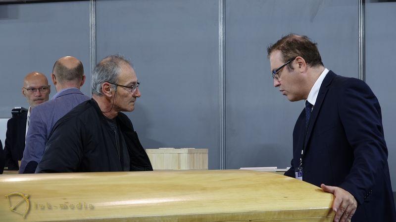 Ритуальная выставка в Лионе