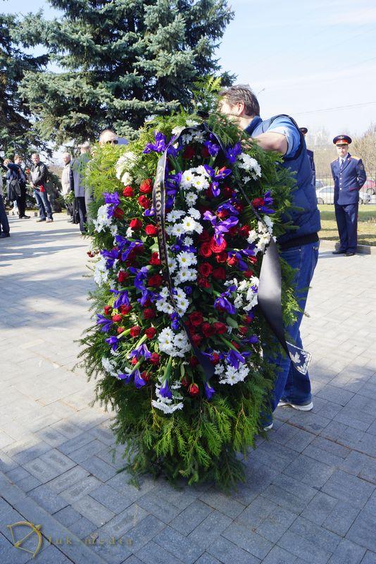 Прощание с Георгием Гречко