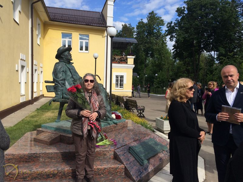 Открытие памятника Чехову