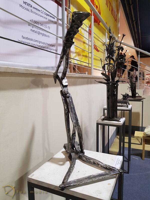 Кованые изделия на выставке Жар-птица 2018