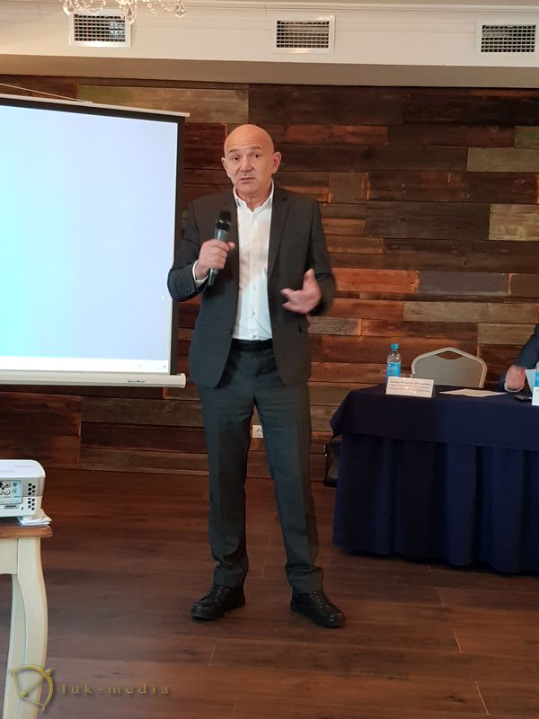 Конференция на выставке Карельский камень 2018