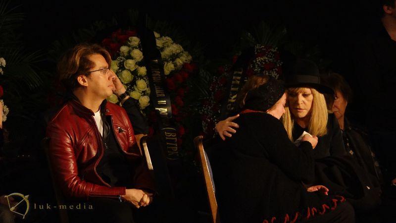 Прощание с Романом Карцевым