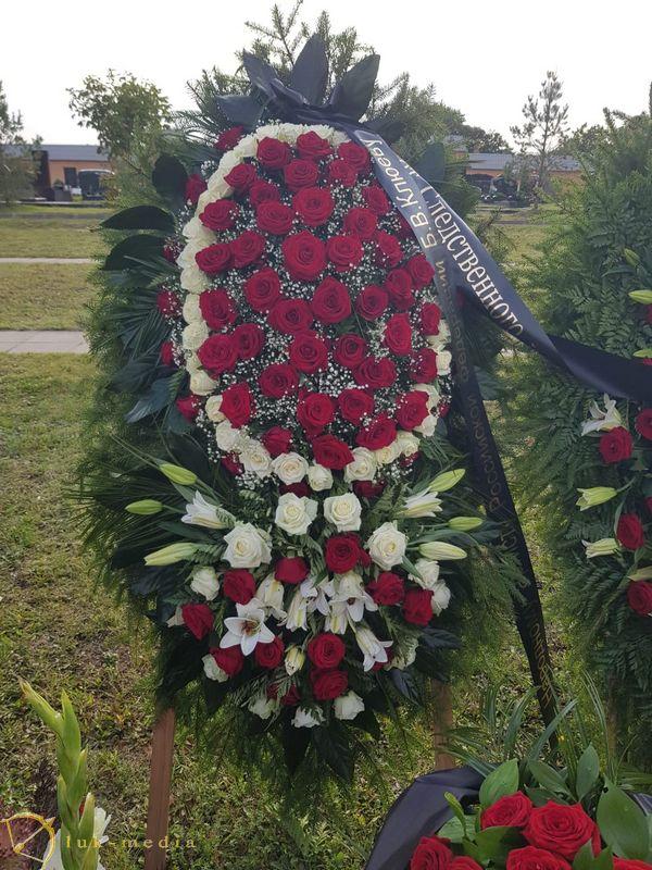 Похороны Бориса Клюева