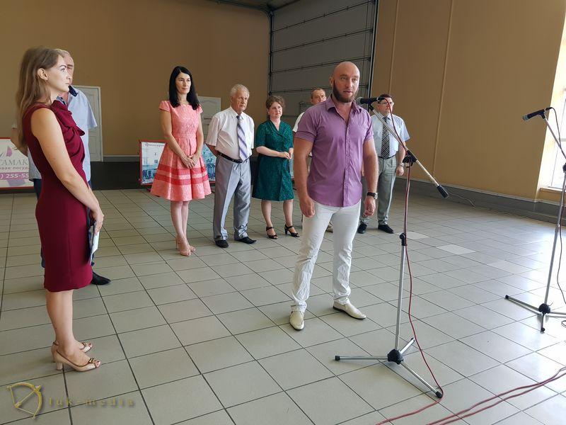 Открытие выставки в Краснодаре