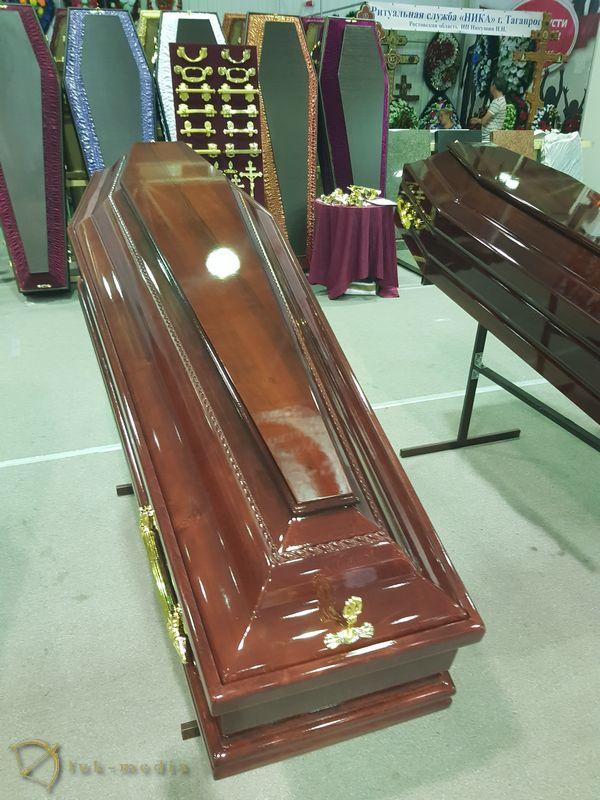 Гробы на краснодарской выставке