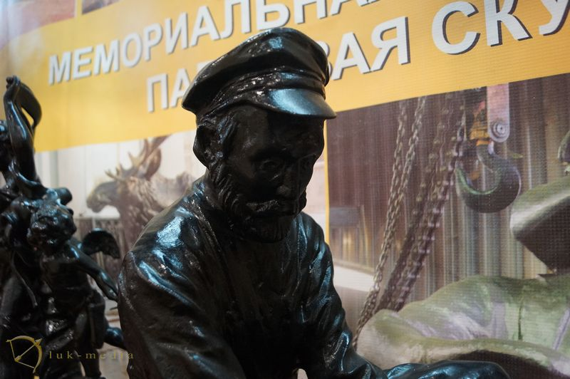 Каслинское литье на выставке ладья Зимняя сказка 2018