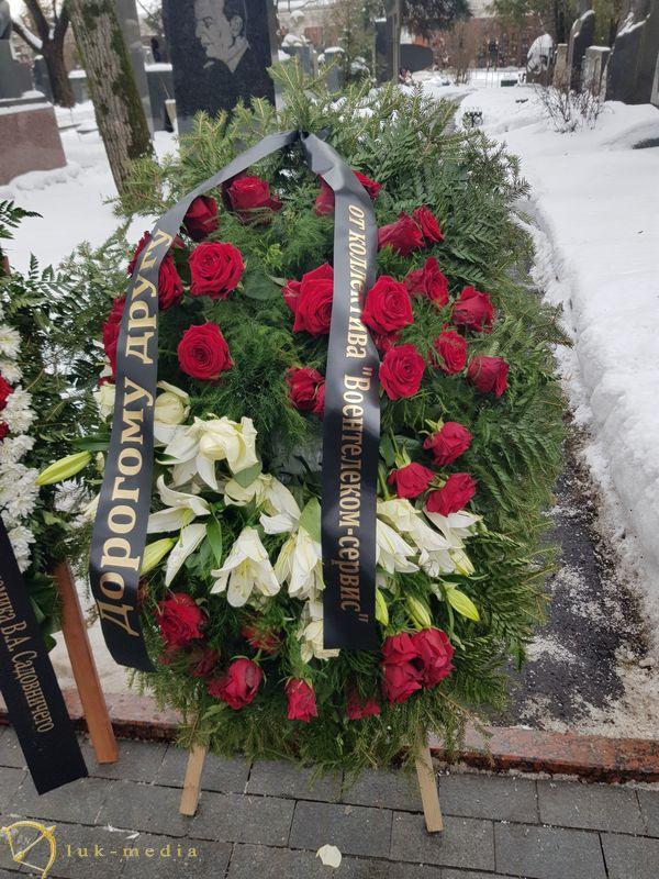 Прощание с Василием Лановым