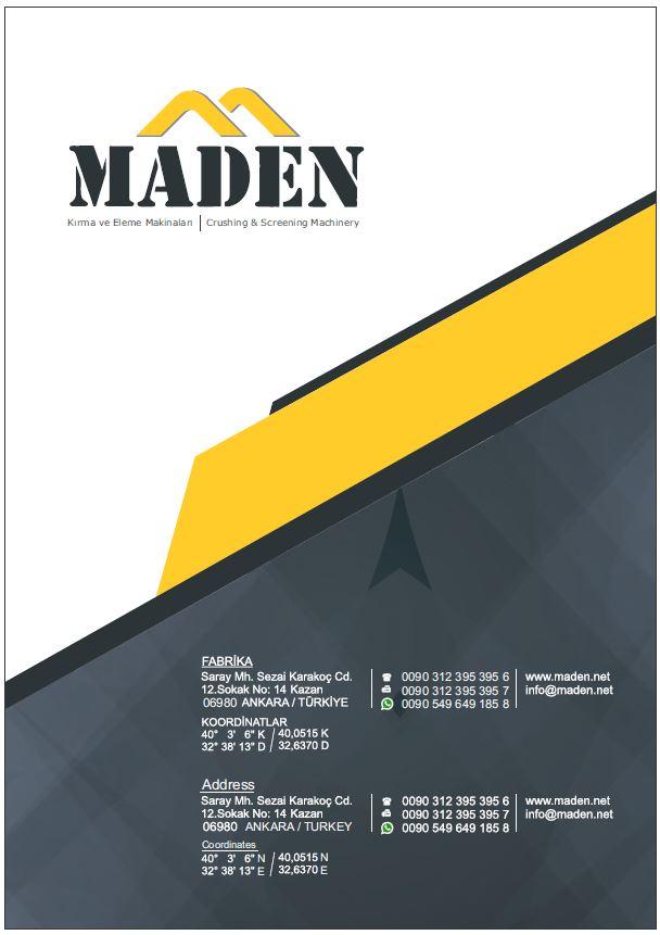 Компания MADEN