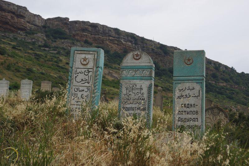 Старинное мусульманское кладбище в Тарки
