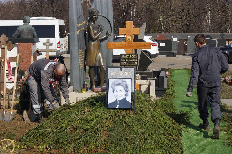 Похороны Инны Макаровой