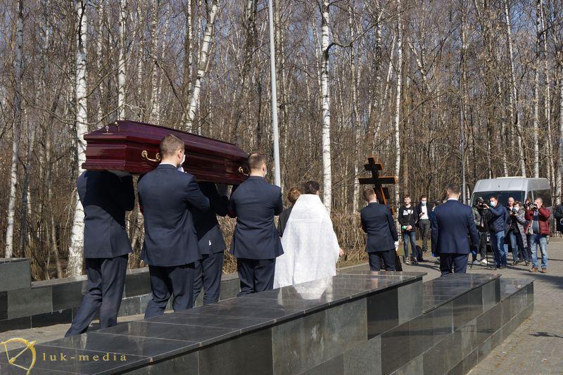 Прощание с Инной Макаровой