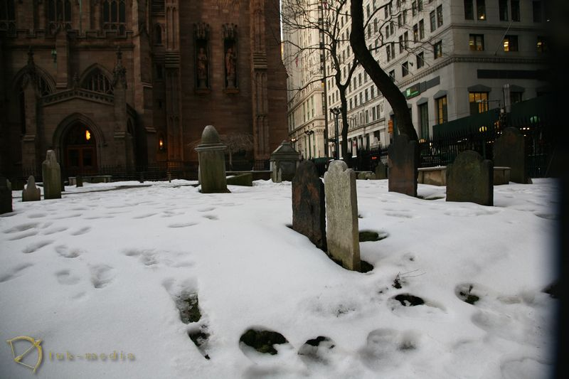 Кладбище Святой Троицы в Нью-Йорке