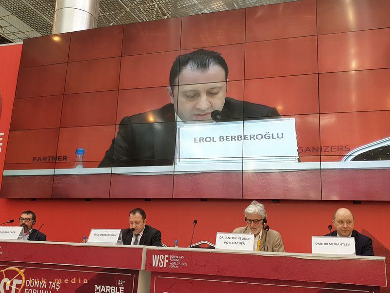 Выступление Дмитрия Медянцева на выставке Marble 2019