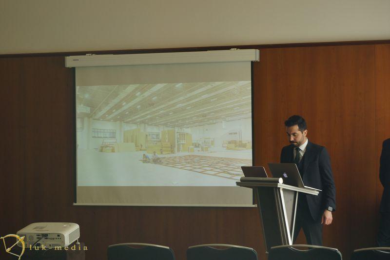 Презентация выставки камня в Измире