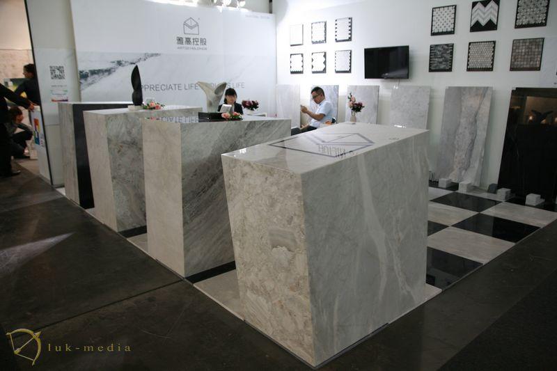 Участники выставки Marmomac