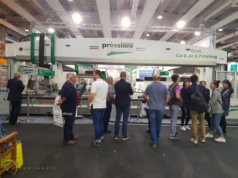 Компания Пруссиани на выставке Marmomac 2018