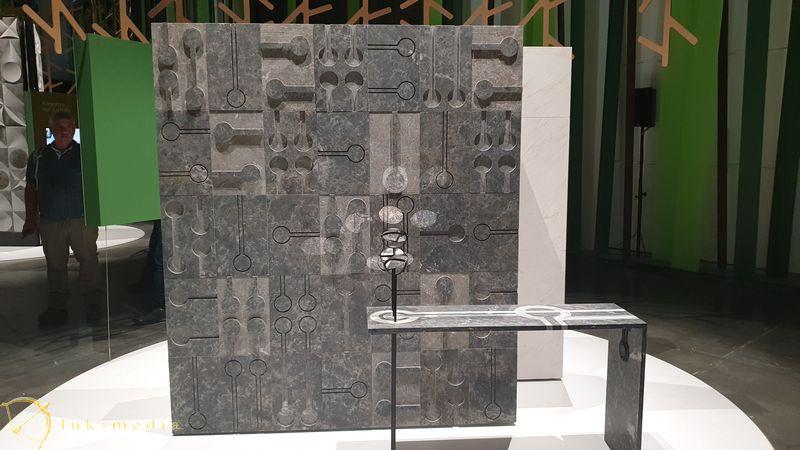 Каменный театр выставки Мармомак 2019