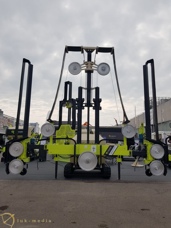 Камнеобрабатывающее оборудование на выставке Мармомак 2019