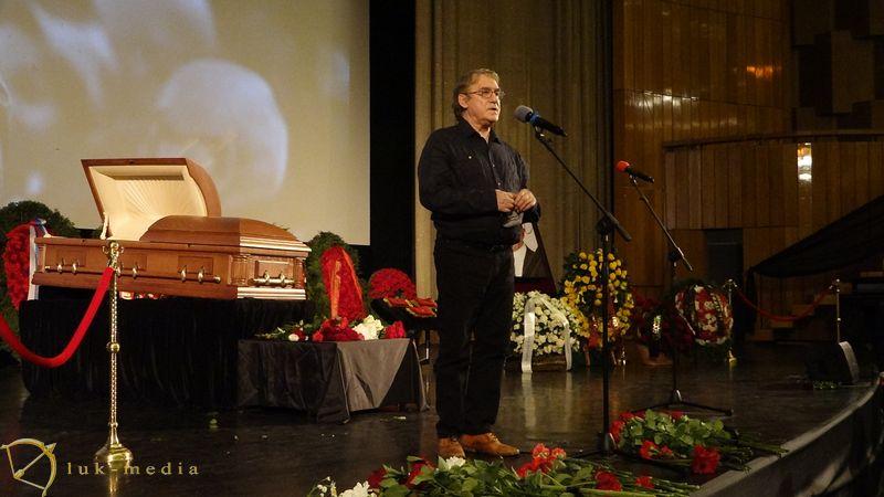 Прощание с Владимиром Меньшовым