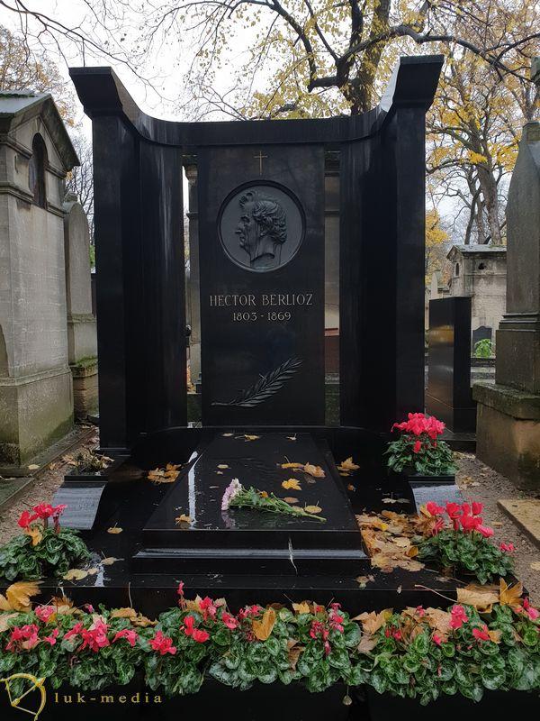 Кладбище Монмартр. Могила Берлиоза