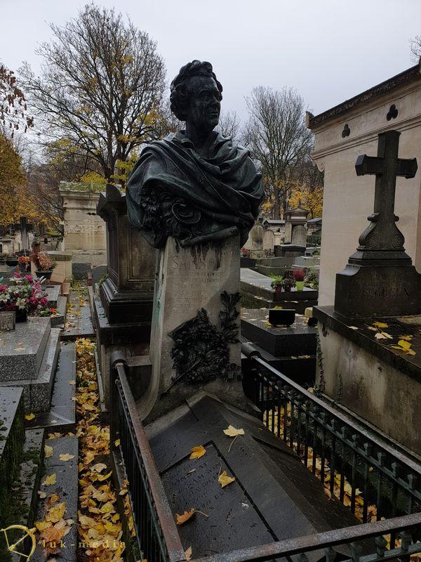 Кладбище Монмартр. Могила Жозефа-Исидора Самсона