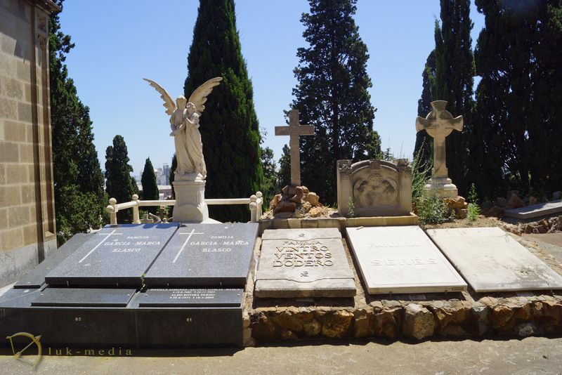 Кладбище Монтжуик в Барселоне