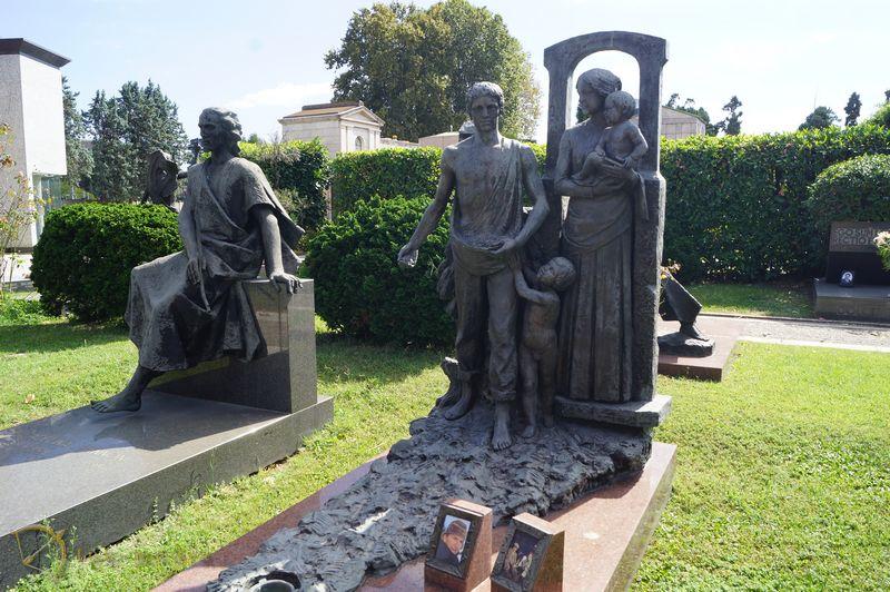 Монументальное кладбище Милана, часть вторая