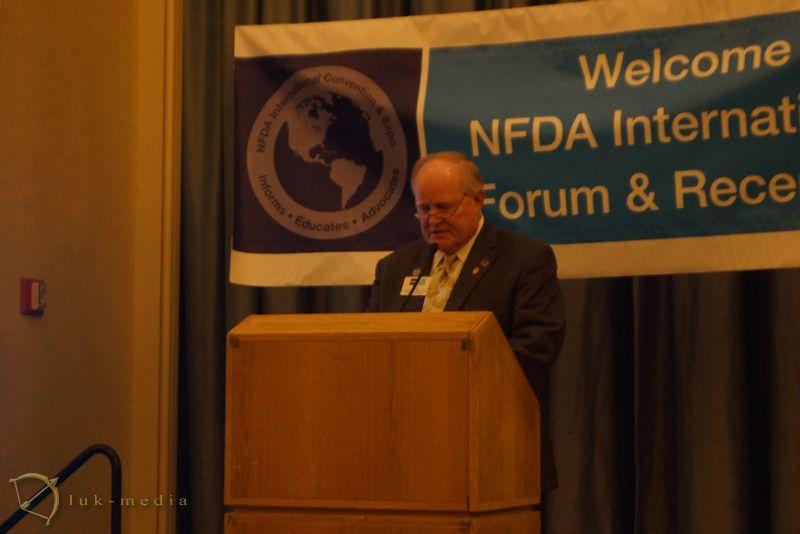 банкет на выставке NFDA 2016